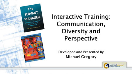 Training: Communication, Diversity and Perspective