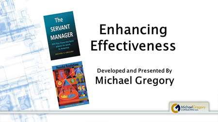 Training: Enhancing Effectiveness