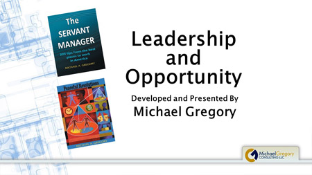Training: Leadership and Opportunity